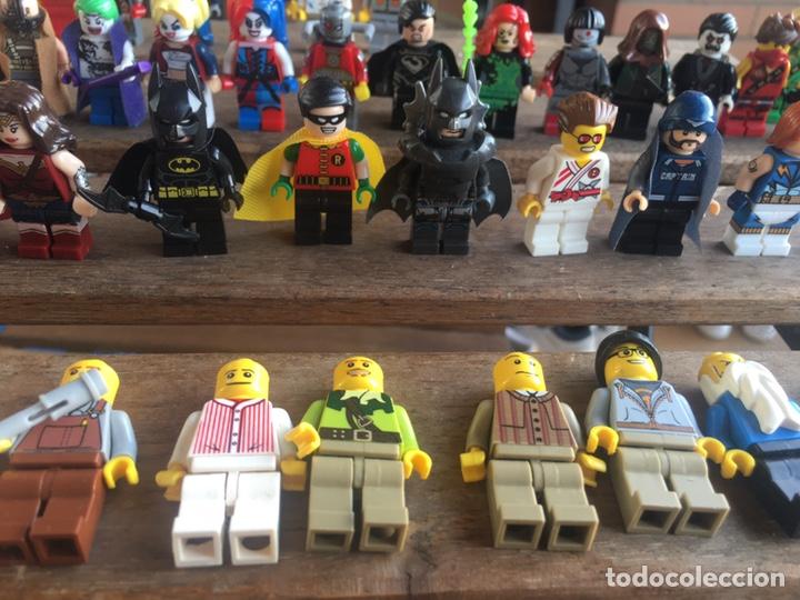 Reproducciones Figuras de Acción: GRAN LOTE 64 FIGURAS TIPO LEGO. NO TENTE. - Foto 5 - 205868222