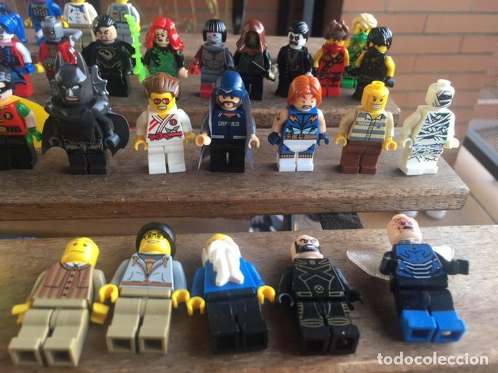 Reproducciones Figuras de Acción: GRAN LOTE 64 FIGURAS TIPO LEGO. NO TENTE. - Foto 6 - 205868222
