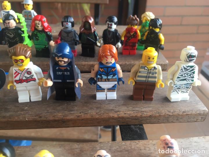 Reproducciones Figuras de Acción: GRAN LOTE 64 FIGURAS TIPO LEGO. NO TENTE. - Foto 7 - 205868222