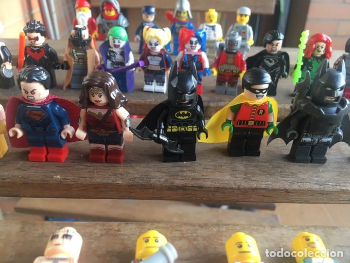 Reproducciones Figuras de Acción: GRAN LOTE 64 FIGURAS TIPO LEGO. NO TENTE. - Foto 9 - 205868222