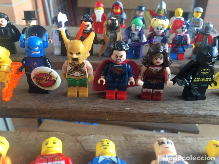 Reproducciones Figuras de Acción: GRAN LOTE 64 FIGURAS TIPO LEGO. NO TENTE. - Foto 10 - 205868222