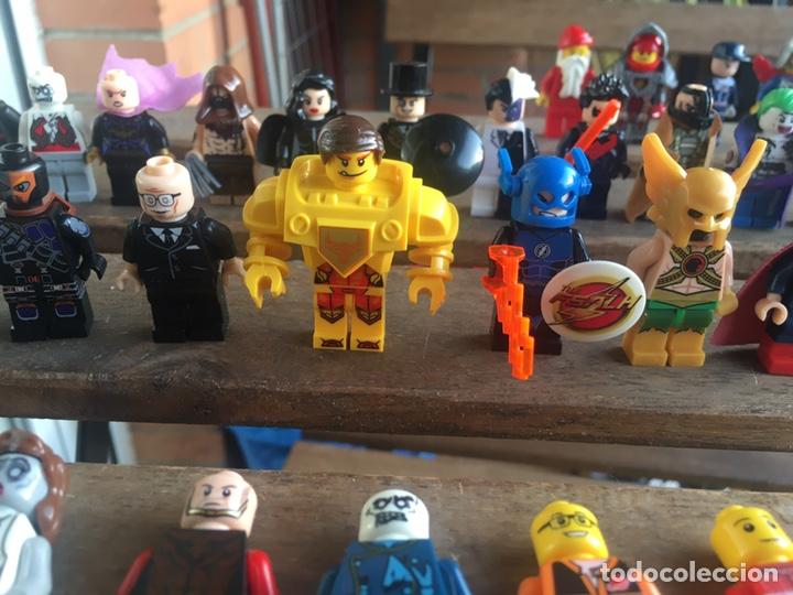 Reproducciones Figuras de Acción: GRAN LOTE 64 FIGURAS TIPO LEGO. NO TENTE. - Foto 11 - 205868222