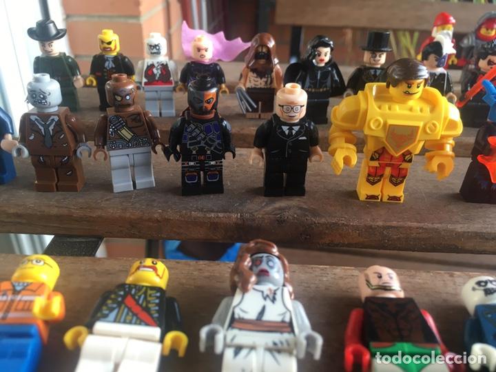 Reproducciones Figuras de Acción: GRAN LOTE 64 FIGURAS TIPO LEGO. NO TENTE. - Foto 12 - 205868222