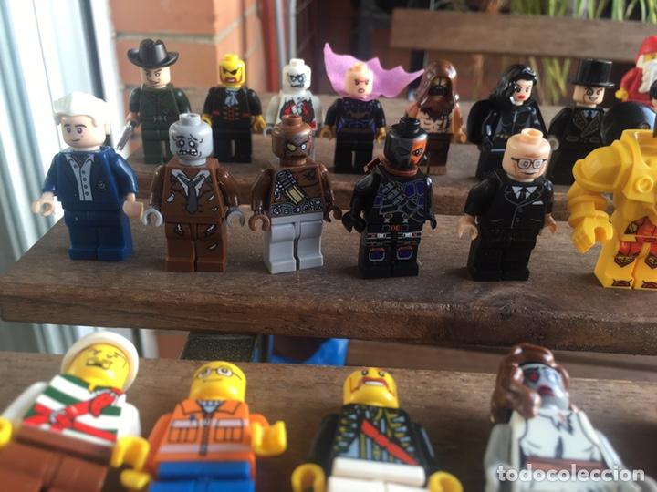 Reproducciones Figuras de Acción: GRAN LOTE 64 FIGURAS TIPO LEGO. NO TENTE. - Foto 13 - 205868222