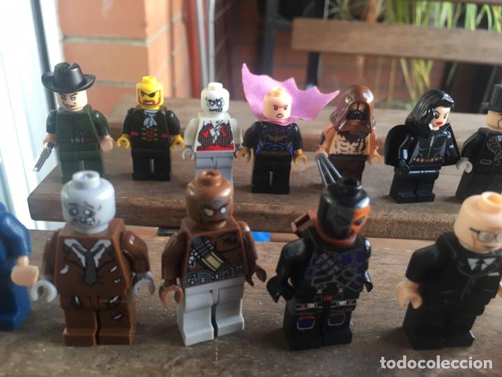 Reproducciones Figuras de Acción: GRAN LOTE 64 FIGURAS TIPO LEGO. NO TENTE. - Foto 14 - 205868222
