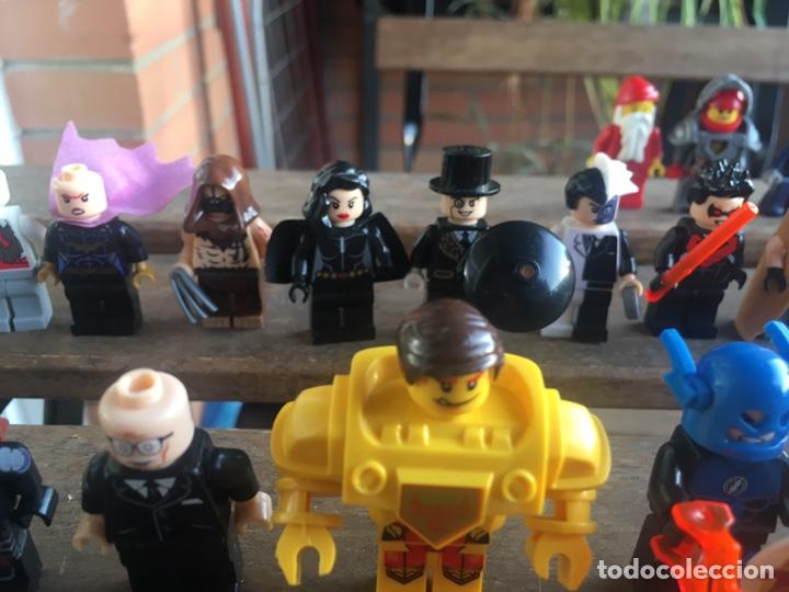 Reproducciones Figuras de Acción: GRAN LOTE 64 FIGURAS TIPO LEGO. NO TENTE. - Foto 15 - 205868222