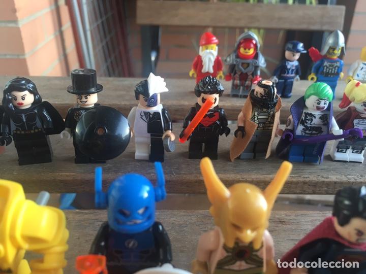 Reproducciones Figuras de Acción: GRAN LOTE 64 FIGURAS TIPO LEGO. NO TENTE. - Foto 16 - 205868222