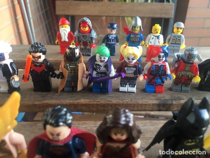 Reproducciones Figuras de Acción: GRAN LOTE 64 FIGURAS TIPO LEGO. NO TENTE. - Foto 17 - 205868222
