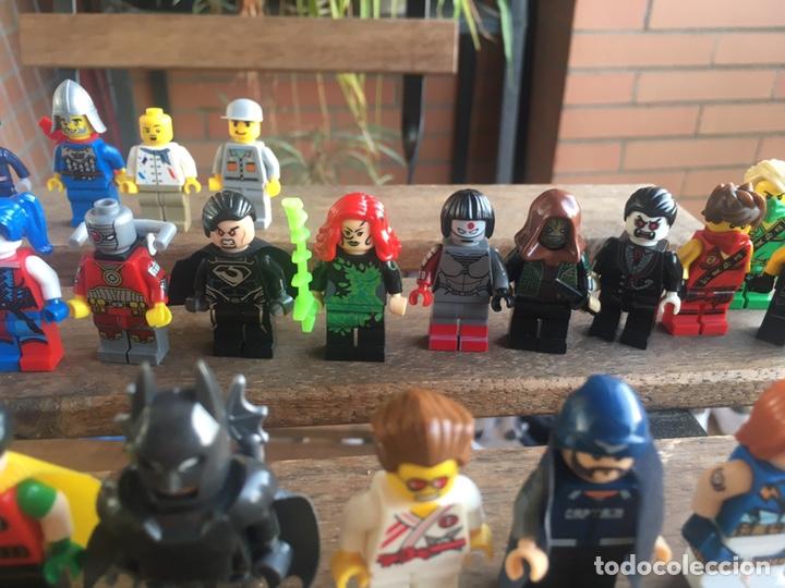 Reproducciones Figuras de Acción: GRAN LOTE 64 FIGURAS TIPO LEGO. NO TENTE. - Foto 19 - 205868222