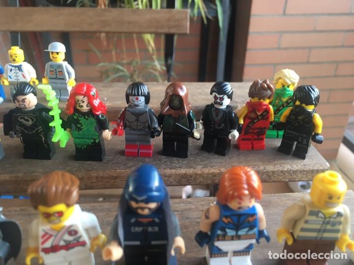 Reproducciones Figuras de Acción: GRAN LOTE 64 FIGURAS TIPO LEGO. NO TENTE. - Foto 20 - 205868222