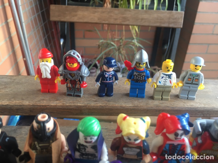 Reproducciones Figuras de Acción: GRAN LOTE 64 FIGURAS TIPO LEGO. NO TENTE. - Foto 21 - 205868222
