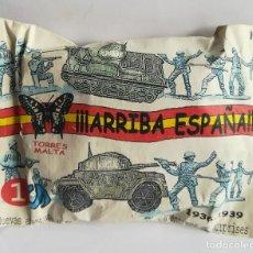 Reproducciones Figuras de Acción: TORRES MALTA ,NUEVA GENERACION, NUEVAS AVENTURAS SPAIN 1936 - 1939 SOBRE CON CONTENIDO SORPRESA. Lote 206822687