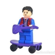 Reproducciones Figuras de Acción: FIGURA CONSTRUCCION REGRESO AL FUTURO (BACK TO THE FUTURE) (MARTY MCFLY). Lote 253942190