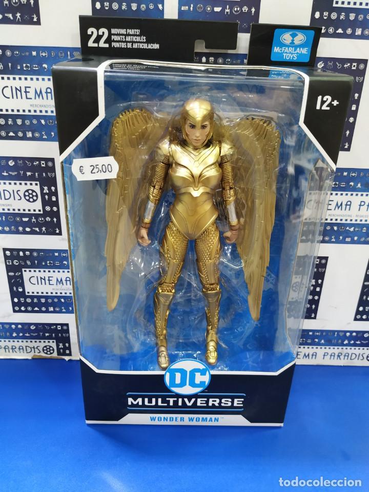 WONDER WOMAN 1984 - GOLDEN ARMOR (DC MULTIVERSE) (Juguetes - Reproducciones Figuras de Acción)