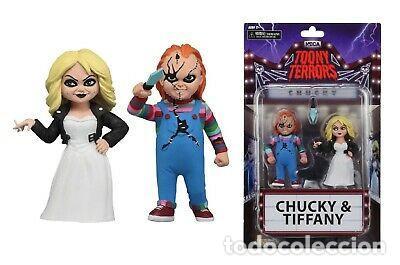 CHUCKY & TIFFANY (TOONY TERRORS) (Juguetes - Reproducciones Figuras de Acción)