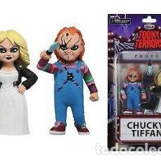 Reproducciones Figuras de Acción: CHUCKY & TIFFANY (TOONY TERRORS). Lote 210450495
