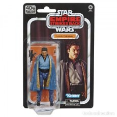 Reproducciones Figuras de Acción: FIGURA LANDO CALRISSIAN EPISODE V 40TH ANNIVERSARY 15 CM - STAR WARS THE BLACK SERIES. Lote 212083437