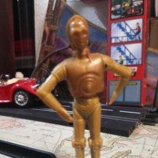 Reproducciones Figuras de Acción: FIGURA DE PLASTICO C-3PO STAR WARS LA GUERRA DE LAS GALAXIAS. Lote 218282948