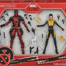 Reproductions Figurines d'Action: DEADPOOL Y NEGASONIC (MARVEL LEGENDS SERIES). Lote 232932340