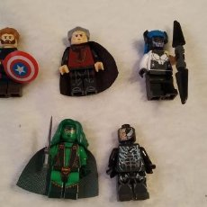 Reproducciones Figuras de Acción: LOTE 1 LEGO COMPATIBLE MARVEL MINI FIGURAS NUEVAS A ESTRENAR. Lote 220951097