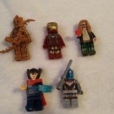Reproducciones Figuras de Acción: LOTE 2 LEGO COMPATIBLE MARVEL MINI FIGURAS NUEVAS A ESTRENAR. Lote 220951155