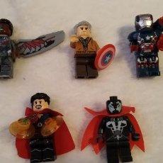 Reproducciones Figuras de Acción: LOTE 3 LEGO COMPATIBLE MARVEL MINI FIGURAS NUEVAS A ESTRENAR. Lote 220951180