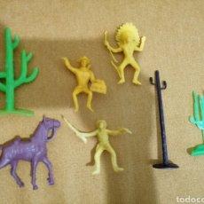 Reproducciones Figuras de Acción: FIGURAS PLÁSTICO OESTE. Lote 221151832