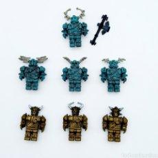 Reproducciones Figuras de Acción: LOTE 7 FIGURAS TIPO LEGO. Lote 221503852