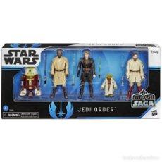 Reproducciones Figuras de Acción: PACK ORDEN JEDI (STAR WARS). Lote 222028265