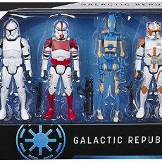 Reproducciones Figuras de Acción: PACK REPÚBLICA GALÁCTICA (STAR WARS). Lote 222030087