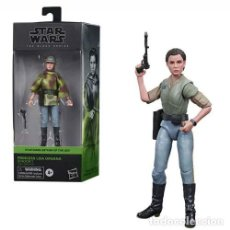 Reproducciones Figuras de Acción: PRINCESA LEIA ORGANA - ENDOR (THE BLACK SERIES). Lote 224485085
