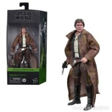 Reproducciones Figuras de Acción: HAN SOLO - ENDOR (THE BLACK SERIES). Lote 237328100