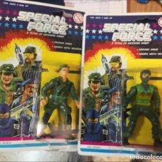 Reproducciones Figuras de Acción: 2 BLISTER SOLDADOS SPECIAL FORCE A TEAM MODERN ARMY (TIPO GI JOE) AÑOS 90.. Lote 274801483