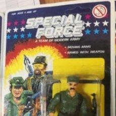Reproducciones Figuras de Acción: BLISTER SOLDADOS SPECIAL FORCE A TEAM MODERN ARMY (TIPO GI JOE) AÑOS 90. IDEAL COLECCIONISTAS. Lote 225134575