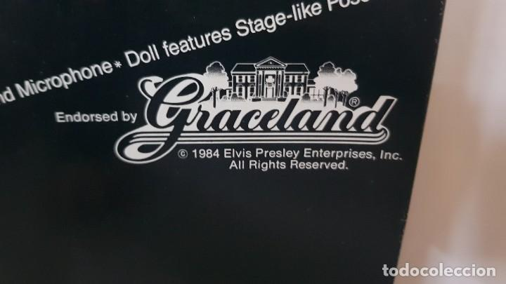 Reproducciones Figuras de Acción: Elvis Presley figura en muñeco completo y original de 1984 de la marca graceland - Foto 6 - 225695505