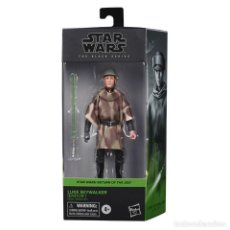 Reproducciones Figuras de Acción: LUKE SKYWALKER - ENDOR (THE BLACK SERIES). Lote 227051640