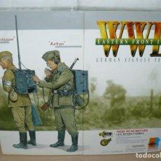 Reproducciones Figuras de Acción: DRAGON WWII EASTERN FRONT 1943 GERMAN SIGNALS TEAM VAPROSSOV & ANTON 1/6 70327 1:6 FIGURE. Lote 227557839