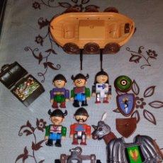 Reproducciones Figuras de Acción: VIKINGOS FIGURAS. NO PLAYMOBIL O AIRGAM BOYS. CHINA. Lote 230007045