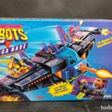 Reproductions Figurines d'Action: ZBOTS MEGA NAVE DE MICROMACHINES, FAMOSA 1994. Lote 235840170