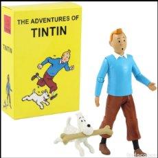 Reproducciones Figuras de Acción: FIGURA ARTICULABLE DE TINTIN. Lote 236214245