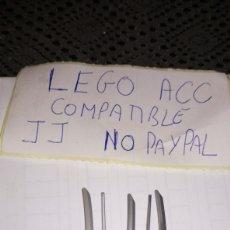 Reproducciones Figuras de Acción: LOTE 5 KATANA GRIS LEGO COMPATIBLE. Lote 237203410