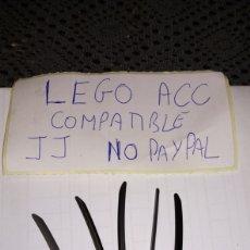 Reproducciones Figuras de Acción: LOTE 5 KATANA NEGRO LEGO COMPATIBLE. Lote 237203475