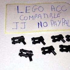 Reproducciones Figuras de Acción: LOTE 7 PISTOLA LASER TIPO STAR WARS LEGO COMPATIBLE. Lote 237400465