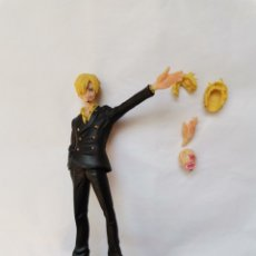 Reproductions Figurines d'Action: FIGURA SANJI DEAD OR ALIVE ONE PIECE BANDAI 2011 13CM. Lote 241917255