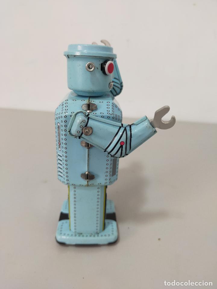 Reproducciones Figuras de Acción: ROBOT HOJALATA A CUERDA MADE IN CHINA - Foto 3 - 244720020