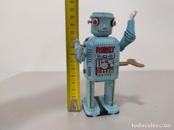Reproducciones Figuras de Acción: ROBOT HOJALATA A CUERDA MADE IN CHINA - Foto 6 - 244720020