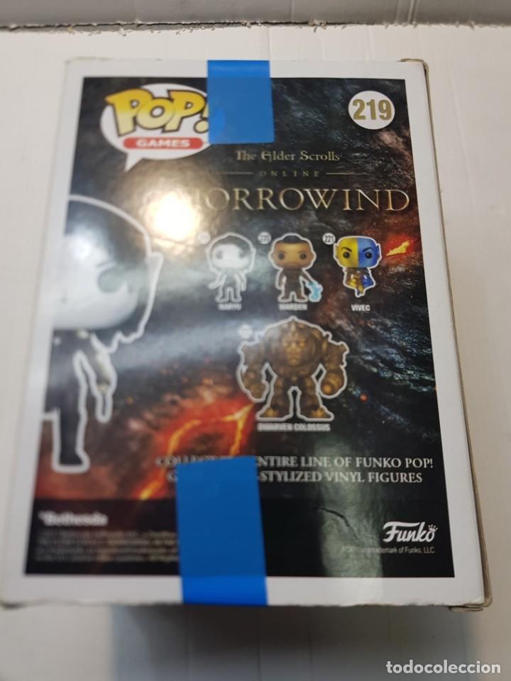 Reproducciones Figuras de Acción: Figura Funko Pop Games-Morrowind-Naryu ref.219 en blister original sin abrir - Foto 5 - 260306850