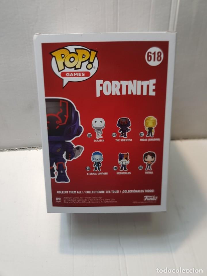 Reproducciones Figuras de Acción: Figura Funko Pop Games-Fortnite-The Scientist ref.618 en blister original sin abrir - Foto 4 - 260307265