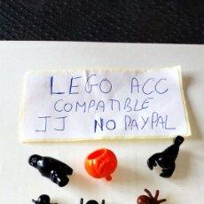 Reproducciones Figuras de Acción: LOTE LEGO COMPATIBLE 3 ARAÑA 1 ESCORPIÓN 1 BÚHO 1 CABEZA CALABAZA HALLOWEEN LO Q SE VE EN LA FOTO. Lote 261174330