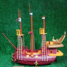 Reproducciones Figuras de Acción: BARCO PIRATA DE HOOK PETER PAN DISNEY , SERIE HÉROES. Lote 262886755